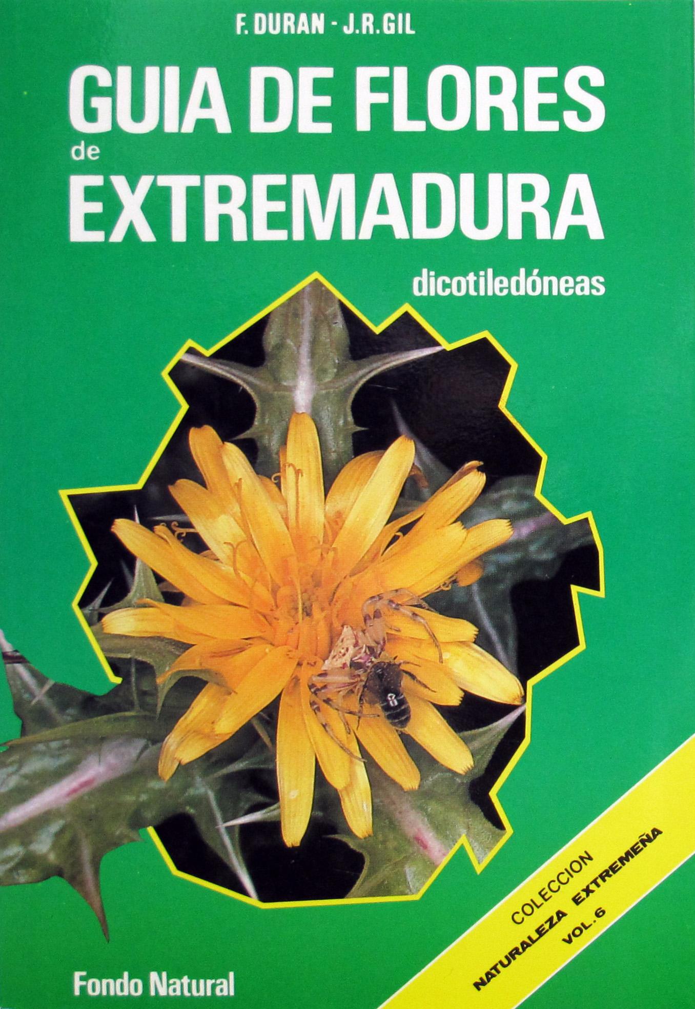Libro GUIA DE FLORES DE EXTREMADURA - Dicot
