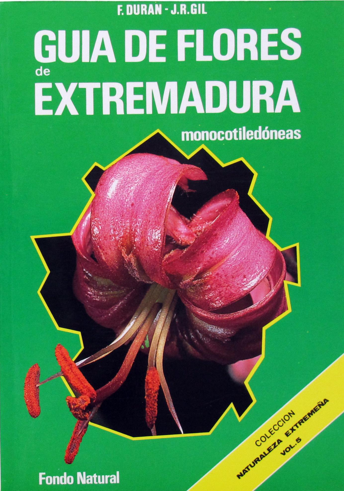 Libro GUIA DE FLORES DE EXTREMADURA - Monoc