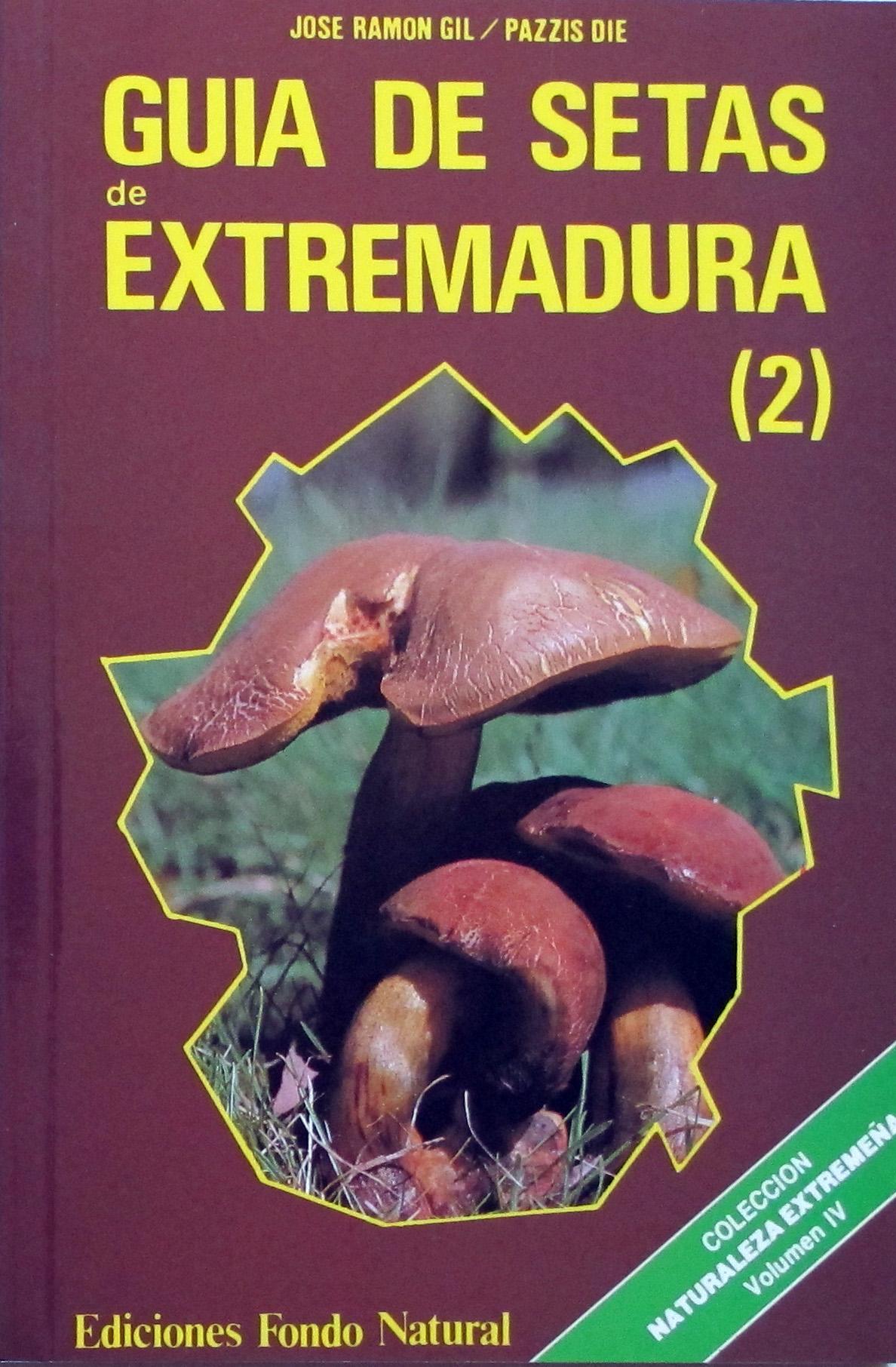 Libro GUIA DE SETAS DE EXTREMADURA - 2